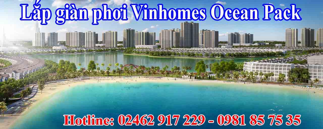 GIÀN PHƠI THÔNG MINH TẠI VINHOMES OCEAN PARK