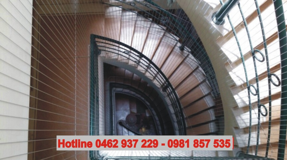 lưới bảo vệ cầu thang hà nội
