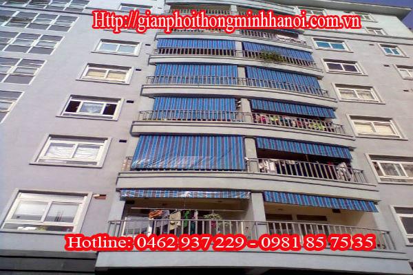 Bạt che Tự cuốn đường Quang Trung, Hà Đông