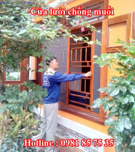 Cửa lưới chống muỗi Hà Nội
